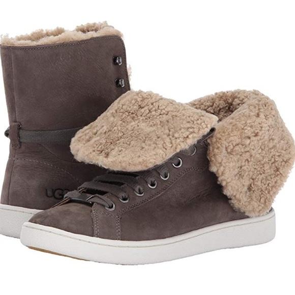 46323b959d4 ❤️New Ugg Starlyn Hi Tops Laced sneakers Sz 12 NWT